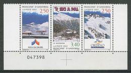 ANDORRE 1993 N° 426A ( 425/426 ) **  Neufs MNH Superbes Cote 3,60 € Station Ski Soldeu Torter Arinsal Sports Hiver - Andorra Francesa