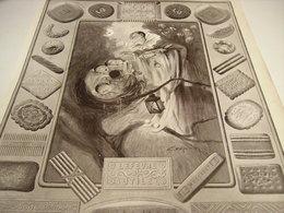 ANCIENNE AFFICHE PUBLICITE BISCUITS LU LEFEVRE & UTILE 1929-1929 - Posters