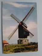 BIKSCHOTE De Molen Le Moulin The Mill Der Mühlen () Anno 19?? ( Zie Foto Details ) !! - Langemark-Poelkapelle