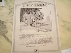 ANCIENNE PUBLICITE CAFE BRESIL DEPUIS 18 SIECLE   1929 - Posters