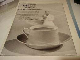 ANCIENNE PUBLICITE DEJEUNER BLECAO   1930 - Posters