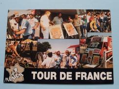 KARIKATURIST NESTEN ( Kouter 73 ) TOUR DE FRANCE - Anno 19?? ( Zie Foto Details ) !! - Kuurne