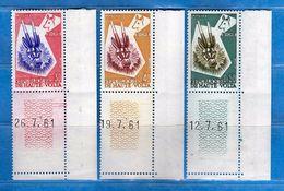 HAUTE VOLTA** - 1960- Masques. Yvert. 71-72-73. MNH.  NUOVI  Vedi Descrizione. - Alto Volta (1958-1984)