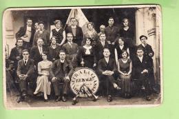 RENAGE - CARTE PHOTO : VIVE La CLASSE 1932 - En L' état  - 2 Scans - Renage