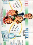 Joli Dépliant Publicitaire Vittel. Années 50. - Publicités