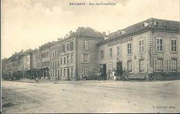 54  BACCARAT  -  RUE DES  CRISTALLERIES   ,(  HOTEL DU PONT ) - Baccarat