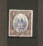MALAYA KEDAH 1937 10c SG 60 FINE USED - Kedah