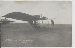 GRADE SUR SON MONOPLAN HELIOPOLIS    (§)(§) - ....-1914: Précurseurs