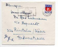 - FRANCE - Lettre PARIS Pour RINTELN (Allemagne) 11.8.1965 - A ETUDIER - - France