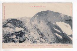 1 Cpa Carte Postale Ancienne - Environs De Luchon Massif Des Posets  549 - Luchon