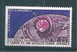 Timbres De Comores  PA De 1962   N°7  Neuf * - Poste Aérienne