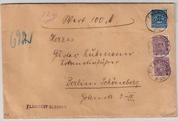 Schleswig, 1920, Wert-Brief Der Abstimm. Commission !   , #8426 - Deutschland