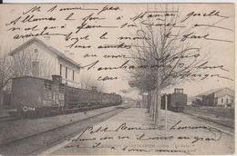 D36 - TOURNON SAINT MARTIN - LA GARE (TRAINS) - Sonstige Gemeinden