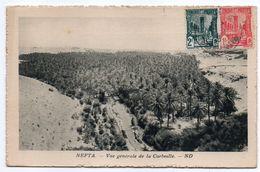 Tunisie--NEFTA--1940--Vue Générale De La Corbeille  ,cpsm 14 X 9  N° ???  éd  ND --cachet--timbre - Tunesië