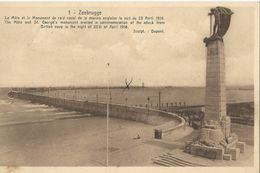 Zeebrugge: Monument De La Marine Anglaise - Zeebrugge