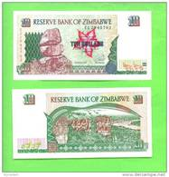 ZIMBABWE - 1997/10 Dollars/River Zambezi UNC - Zimbabwe