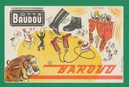 Buvard - BOTTE BAUDOU - BAROUD - Buvards, Protège-cahiers Illustrés