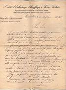 VP10.534 - Lettre - Société D'Eclairage, Chauffage & Force Motrice - Usine A Gaz à GENNEVILLIERS - Electricity & Gas