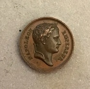 . France - Petite Médaille En Bronze - Napoleon Empereur - Champ De Mai 1 Juin 1815 - Adel