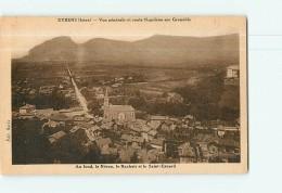 EYBENS -  Vue Générale Et Route Napoléon Sur Grenoble - 2 Scans - Non Classés