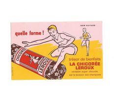 Buvard Chicorée Leroux Quelle Forme - Buvards, Protège-cahiers Illustrés
