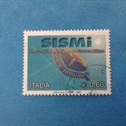 2004 ITALIA FRANCOBOLLO USATO STAMP USED - SISMI - - 6. 1946-.. Repubblica