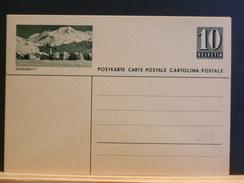 70/294    CARTE POSTALE ILLUSTRE - Stamped Stationery