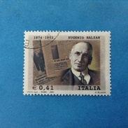 2003 ITALIA FRANCOBOLLO USATO STAMP USED - BALZAN - - 6. 1946-.. Repubblica