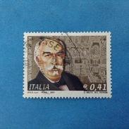 2003 ITALIA FRANCOBOLLO USATO STAMP USED - GIOLITTI - - 6. 1946-.. Repubblica
