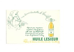 Buvard Huile Lesieur - Buvards, Protège-cahiers Illustrés