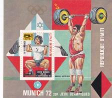 Haiti 1972 München Olympic Summer Games Souvenir Sheet MNH/**  (H25) - Summer 1972: Munich