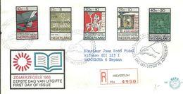 FDC 1966 REGISTERED HILVERSUM - FDC