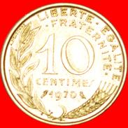 § OWL: FRANCE ★ 10 CENTIMES 1970! LOW START★ NO RESERVE! - France