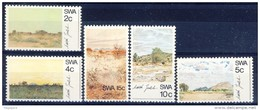 #G1716. SWA. South-West Africa (Namibia) 1973. Paintings By Jentsch. Michel 368-72. MNH(**) - Südafrika (1961-...)