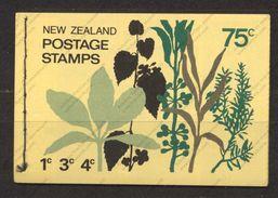 Nouvelle-Zélande, Yvert Carnet 509, SG SB28, MNH - Carnets