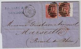 GB, 1863, Brief Nach Frankreich  ,Mi. Ca. € 160,-  # 8402 - Briefe U. Dokumente