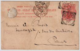 """GB, 1892, """" JERSEY """" ,klar ! # 8403 - Jersey"""