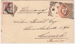 GB, 1891, Squared Und Hoster! , # 8405 - Briefe U. Dokumente