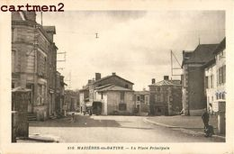 MAZIERES-EN-GATINE PLACE PRINCIPALE 79 - Mazieres En Gatine