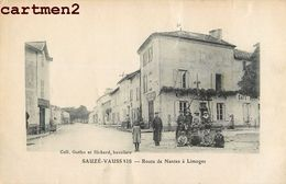 SAUZE-VAUSSAIS ROUTE DE NANTES A LIMOGES 79 - Sauze Vaussais