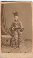 Italy - Padova - 1879 - Photo Robero Peli - 65x110mm - Ancianas (antes De 1900)