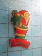 Pin311c Pin´s Pins / Beau Et Rare : PERE NOEL CHATTAWAK - Christmas