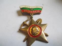"""Médaille Pendante Avec Béliére/ RUSSIE/ Bronze/ Etoile """" 3 A"""" /Vers 1950   MED153 - Rusia"""