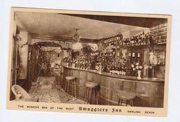 Old Postcard Inside SMUGGLERS INN DAWLISH - England
