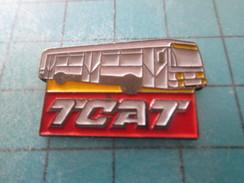 Pin311c Pin´s Pins / Beau Et Rare : TRANSPORTS / BUS AUTOBUS CAR AUTOCAR TCAT - Transports