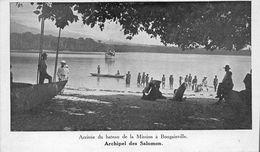 ¤¤ -    ARCHIPEL Des SALOMON  -  Arrivée Du Bateau De La Mission à BOUGAINVILLE     -  ¤¤ - Papouasie-Nouvelle-Guinée