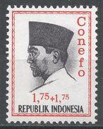 Indonesia 1965. Scott #B167 (MH) President Sukarno, Président - Indonésie