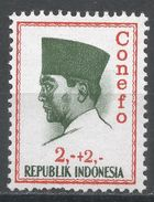 Indonesia 1965. Scott #B168 (MH) President Sukarno, Président - Indonésie