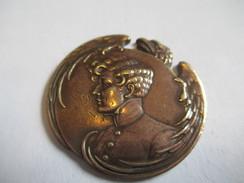 Insigne /L'Aiglon/ Médaille à  Sertir /Bronze / Aigle Impérial/ / XIX éme Siécle            MED160 - Medals