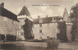 """CPA FRANCE 25 """"Noironte, Le Château"""" - Other Municipalities"""